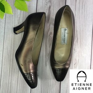 Etienne Agner Low Heel Shoes Size 7